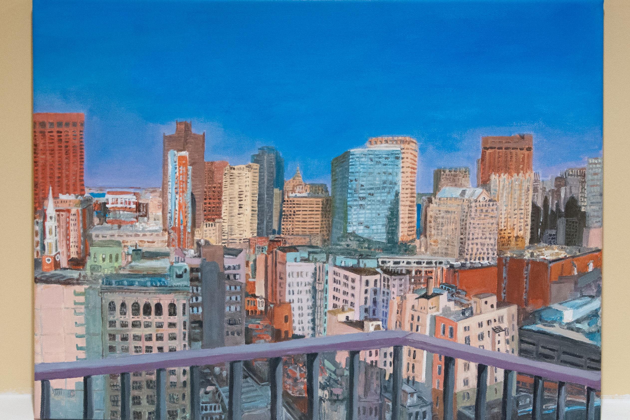 Lynn Celler, Boston Cityscape