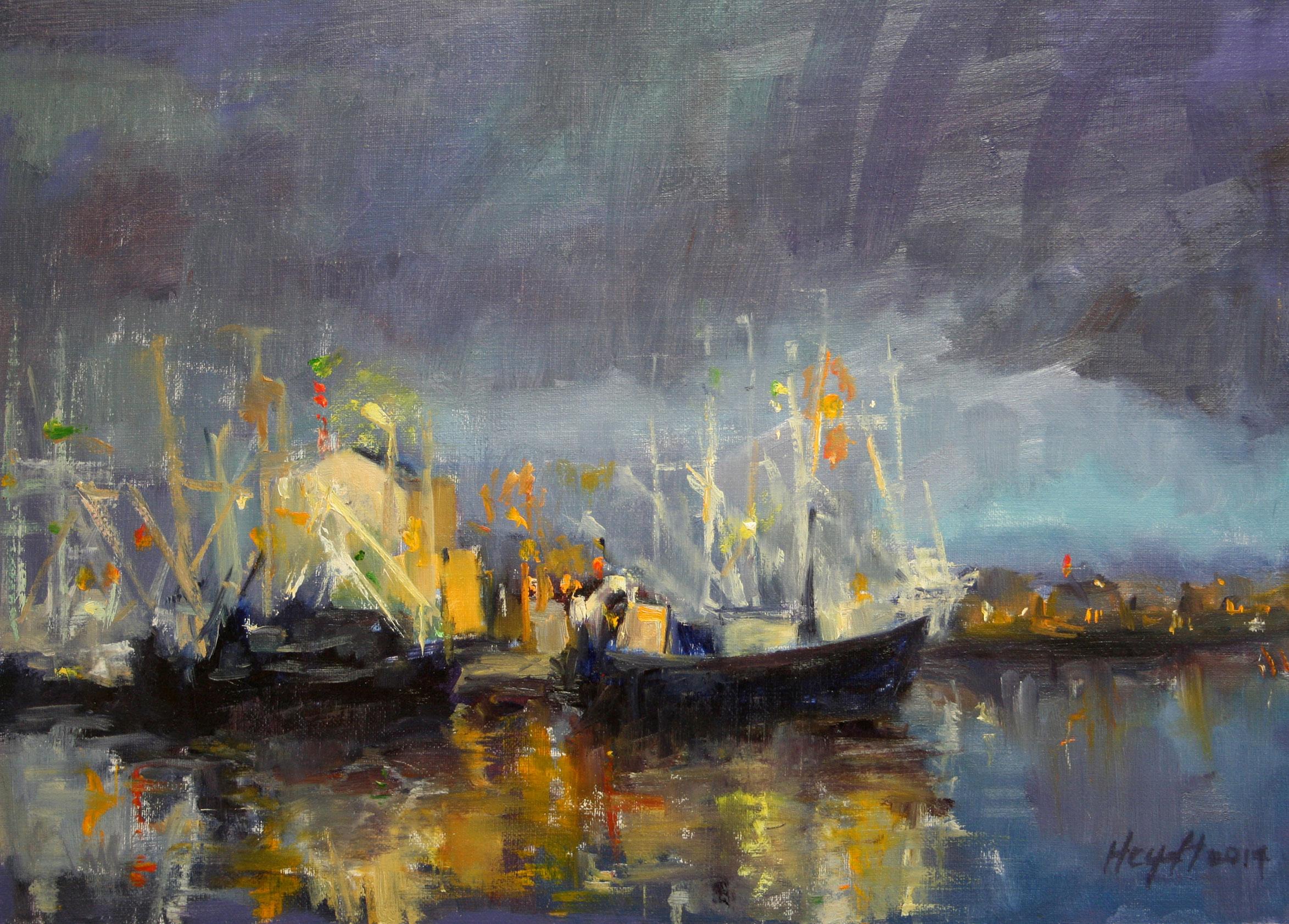 Gerry Heydt, Fishing Fleet, Cape May