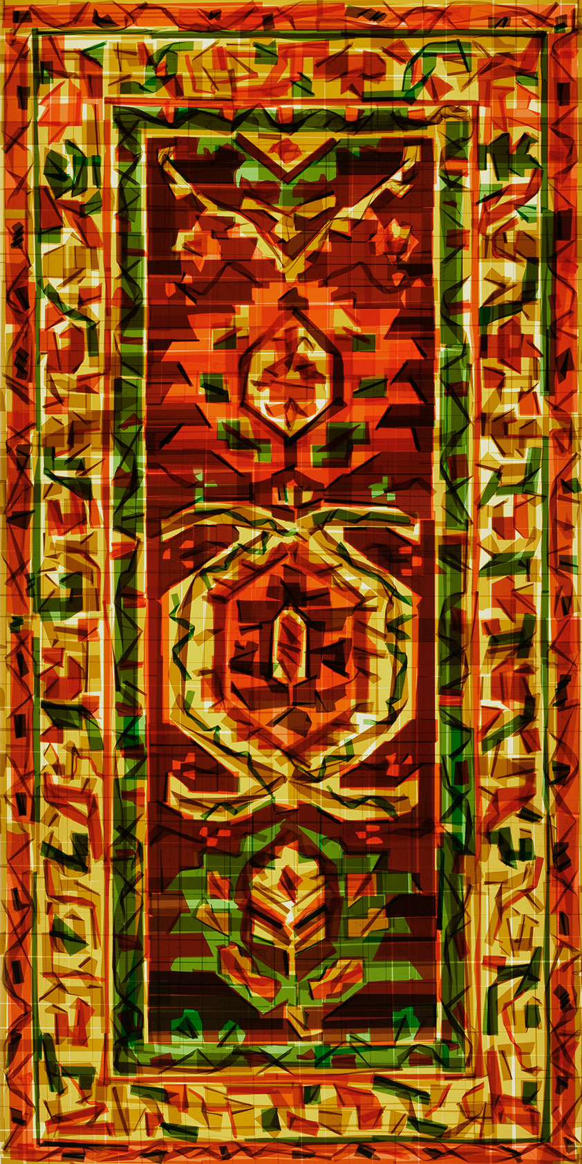Mark Khaisman, Antique Serapi Rug