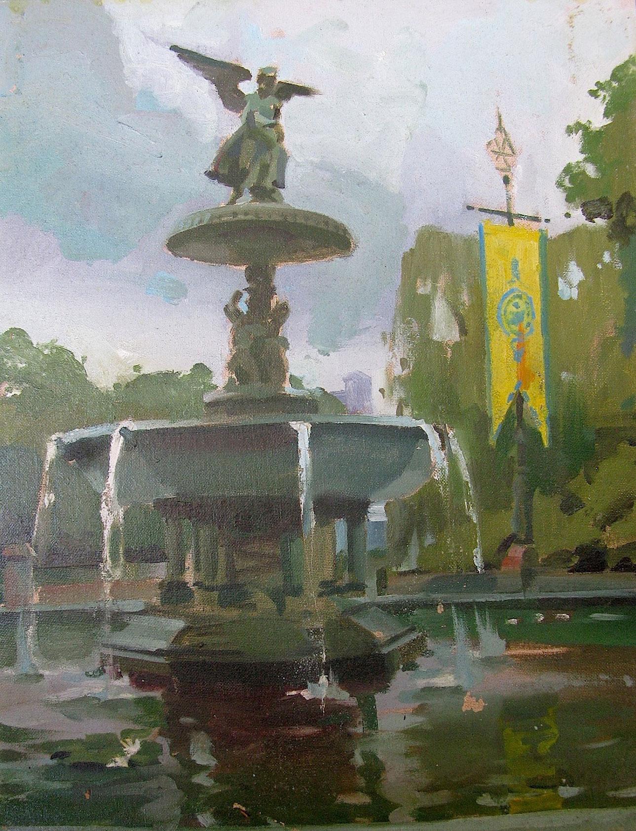 David Benyon Pena, Bethesda Fountain