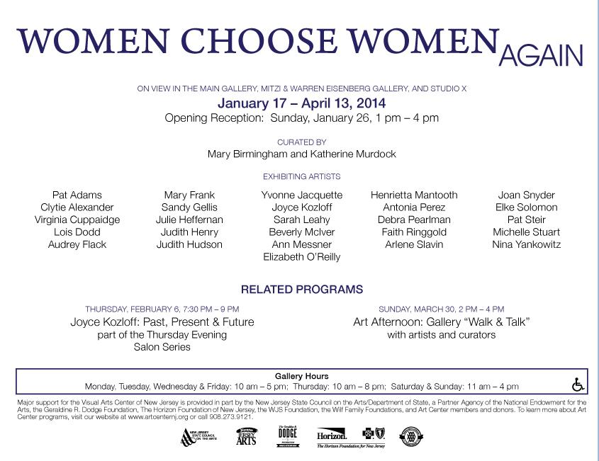 Women Choose Women Again program