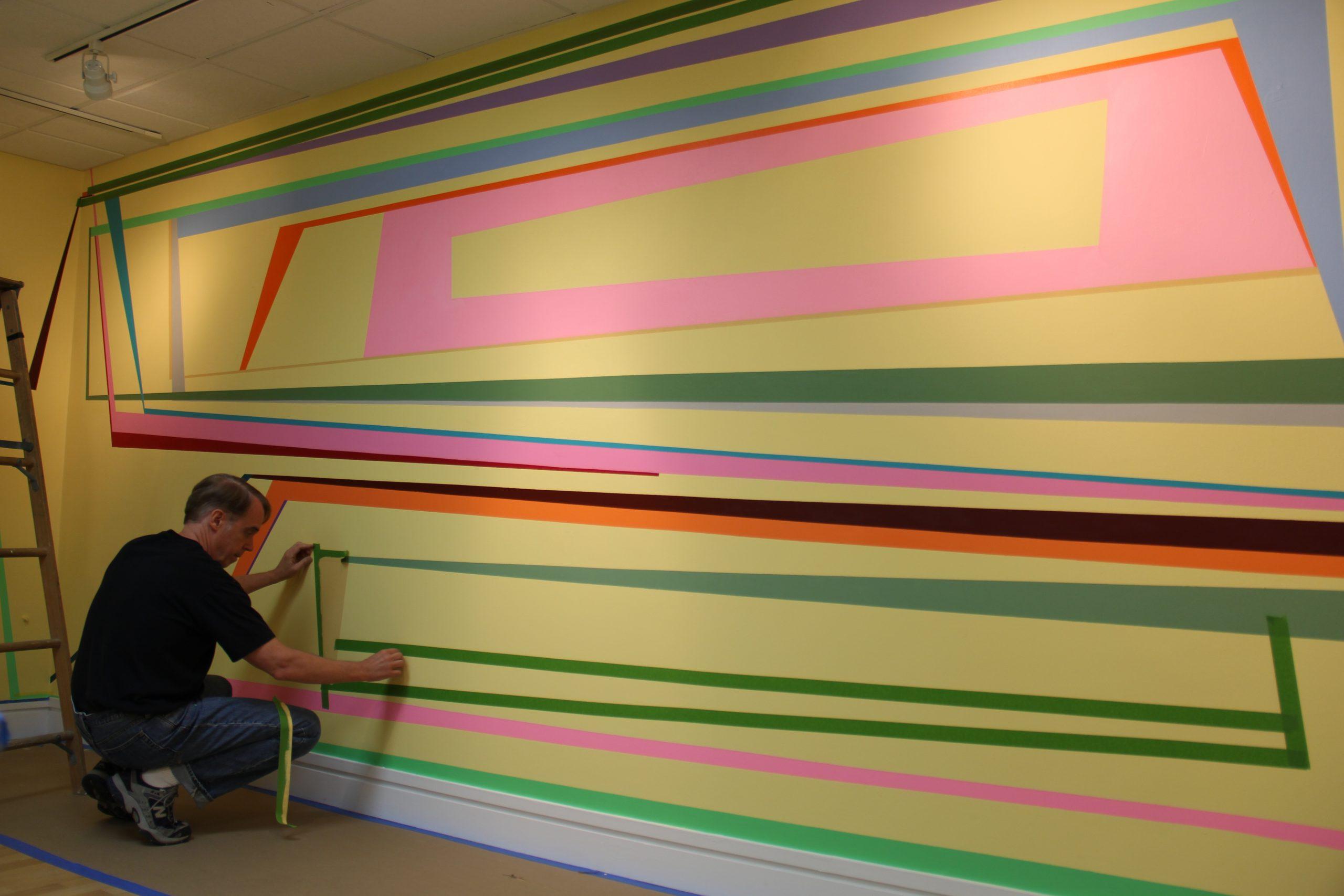 "installation of ""Tilting Points"""