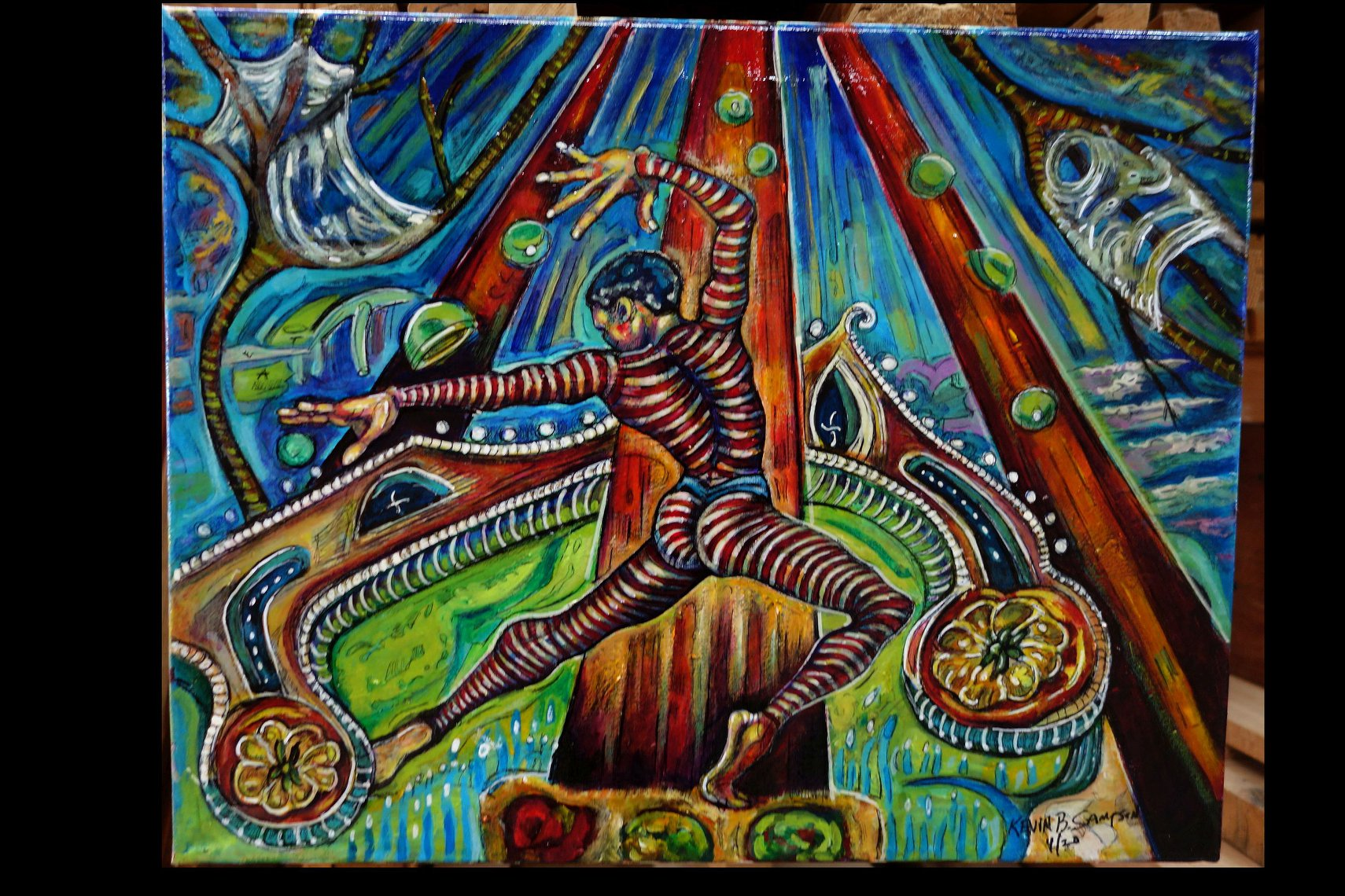 """""""Natarja, Lord of the Dance"""" by Kevin Blythe Sampson"""