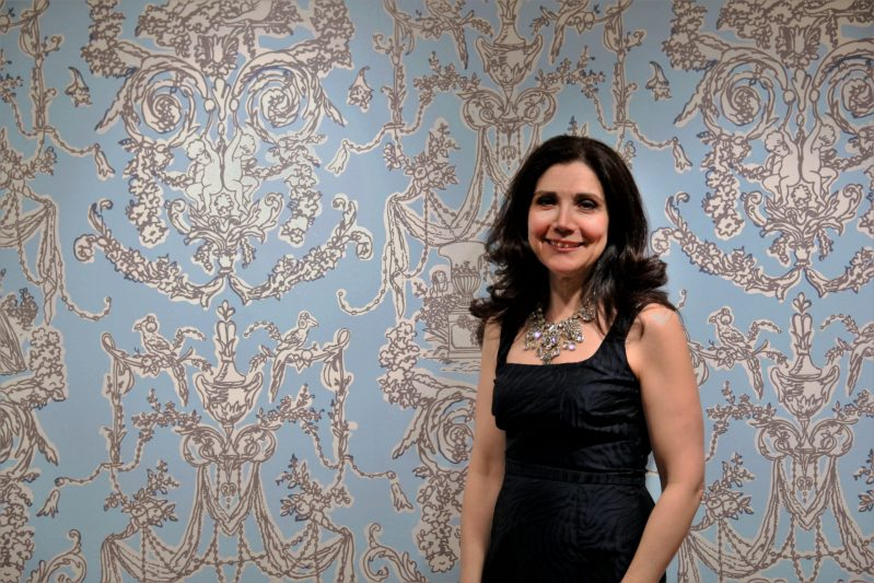 Image of the artist, Lisa Ficarelli-Halpern