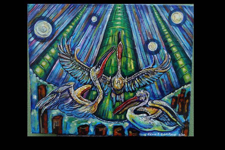 Medicine Bird by Kevin Blythe Sampson