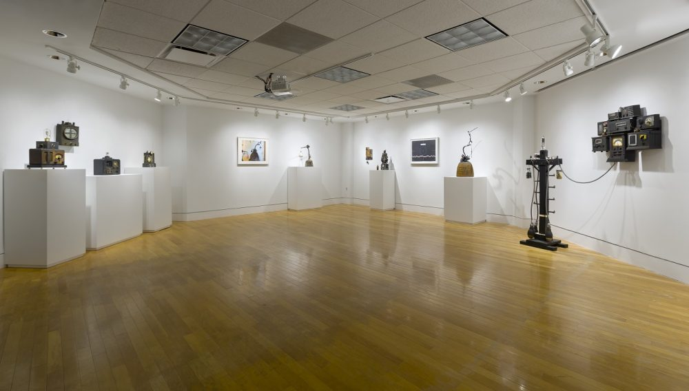 """gallery image of Renee Stout's exhibition at the VAC called """"At The Crossroads"""""""