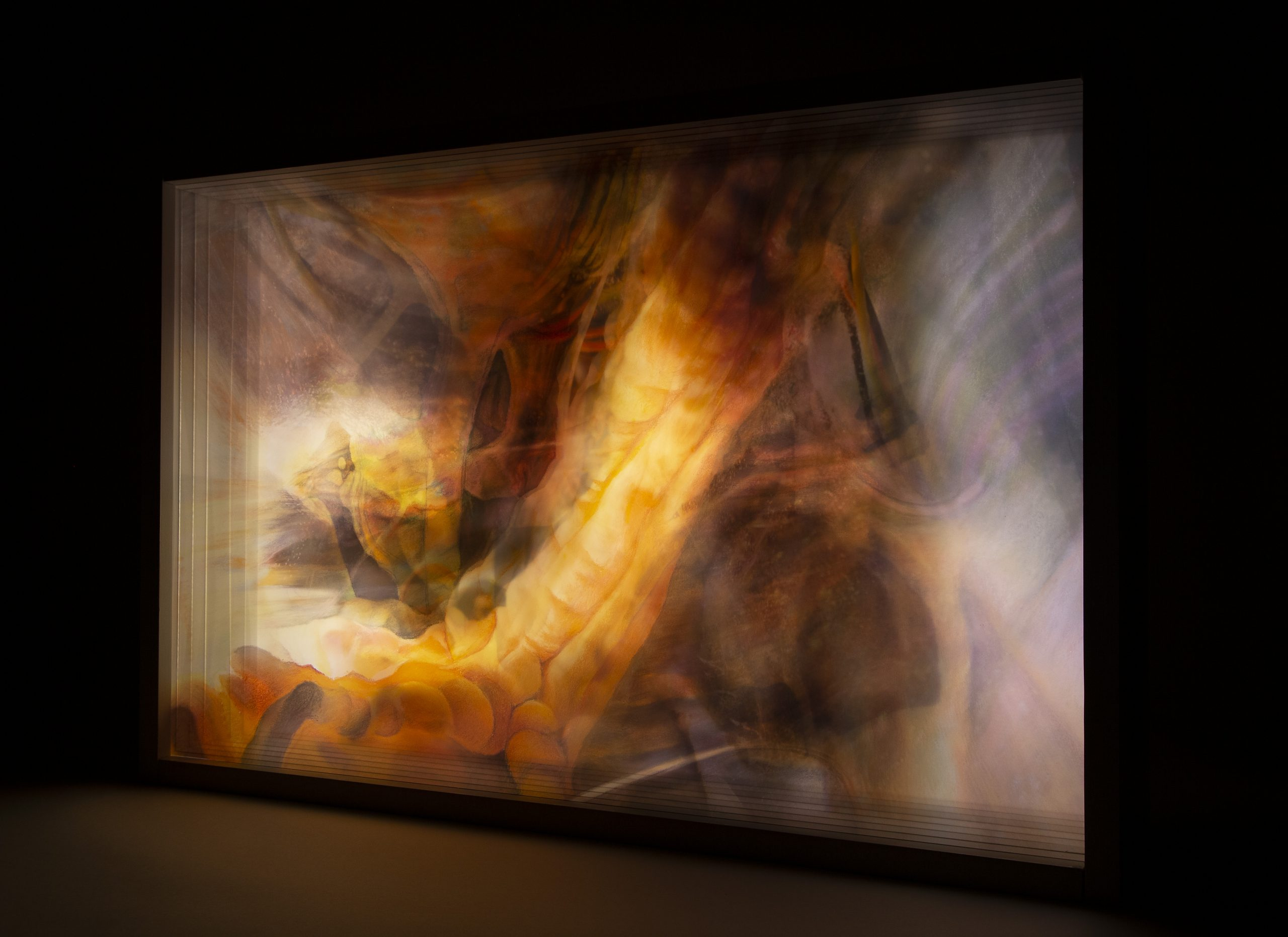 """image of Sarah Canfield's piece """"Light Before the Tunnel"""""""