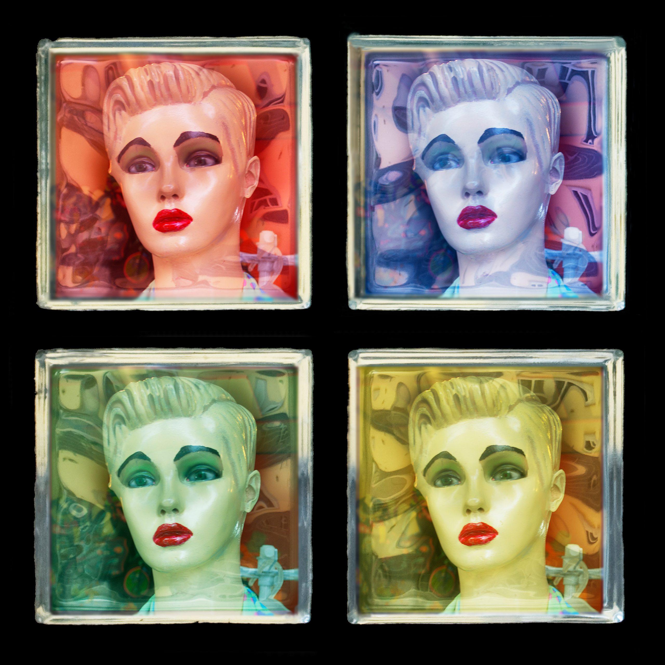 "Dorothy Kuehn's piece ""Homage 1-4"""
