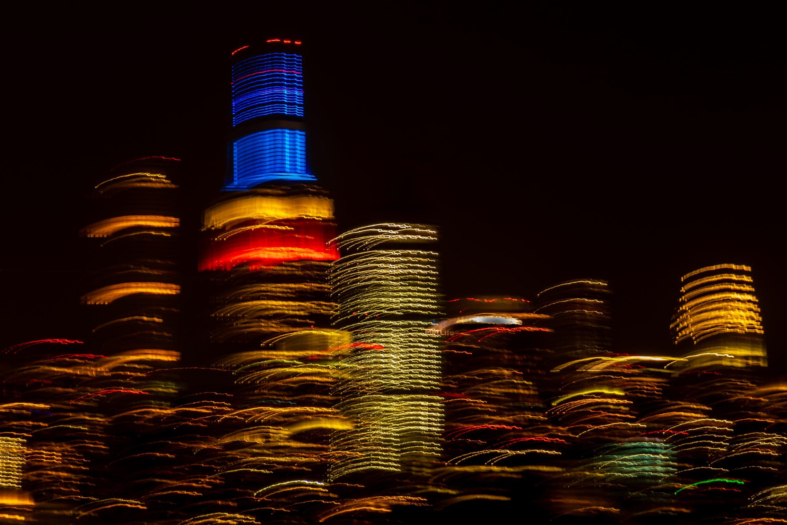 "Christine Truhe's piece ""Blowing Skyline"""