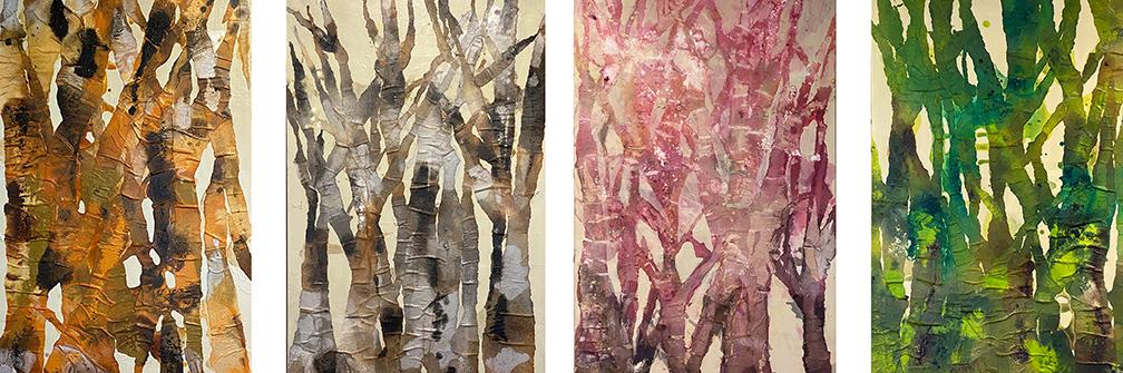 Four Seasons by Susan Horn