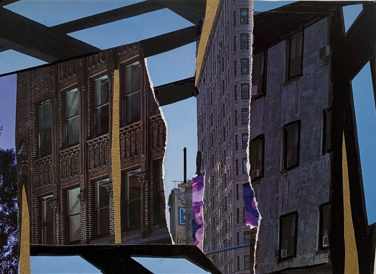 Flat Iron Collage by Jennifer Markovitz