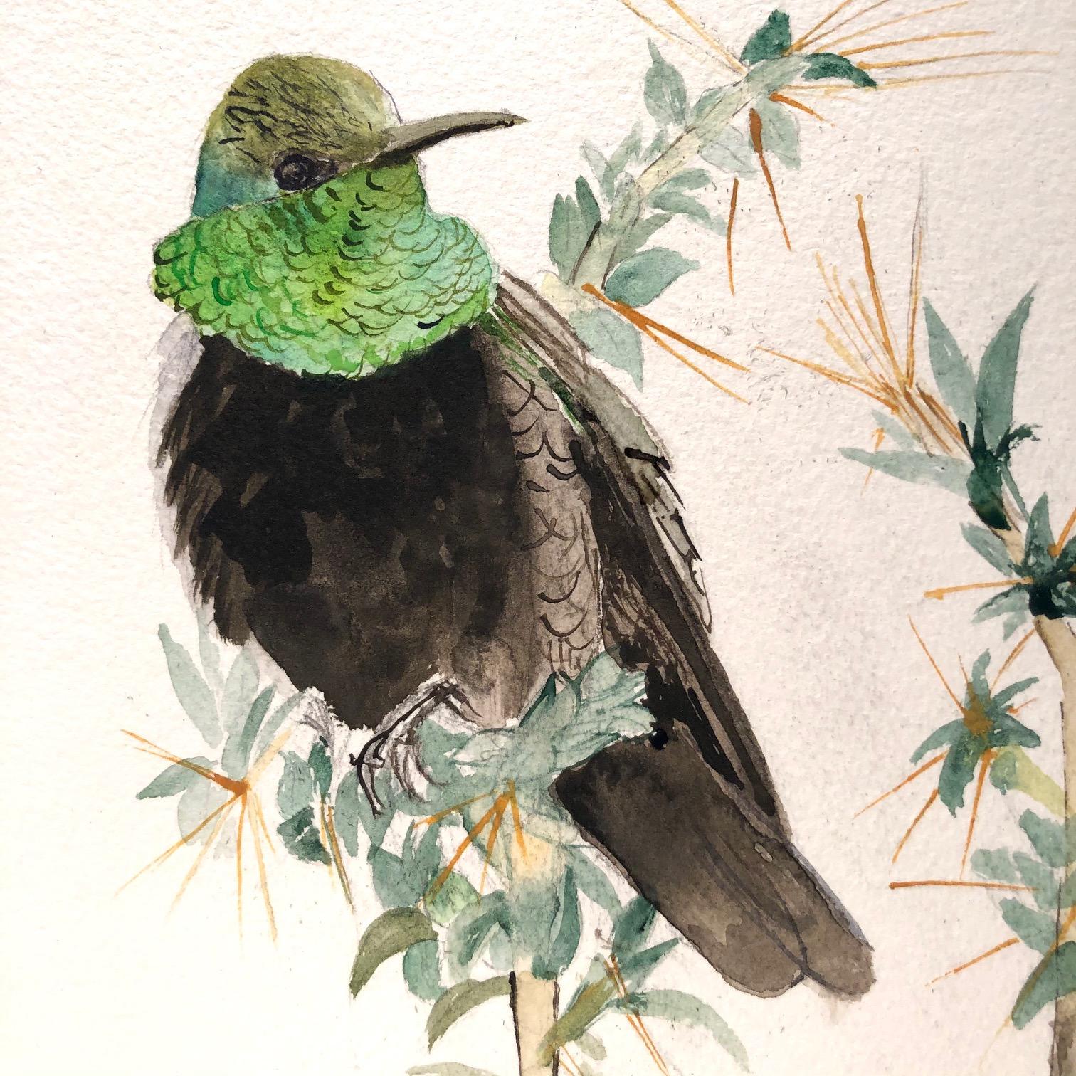 detail of 108 Hummingbirds