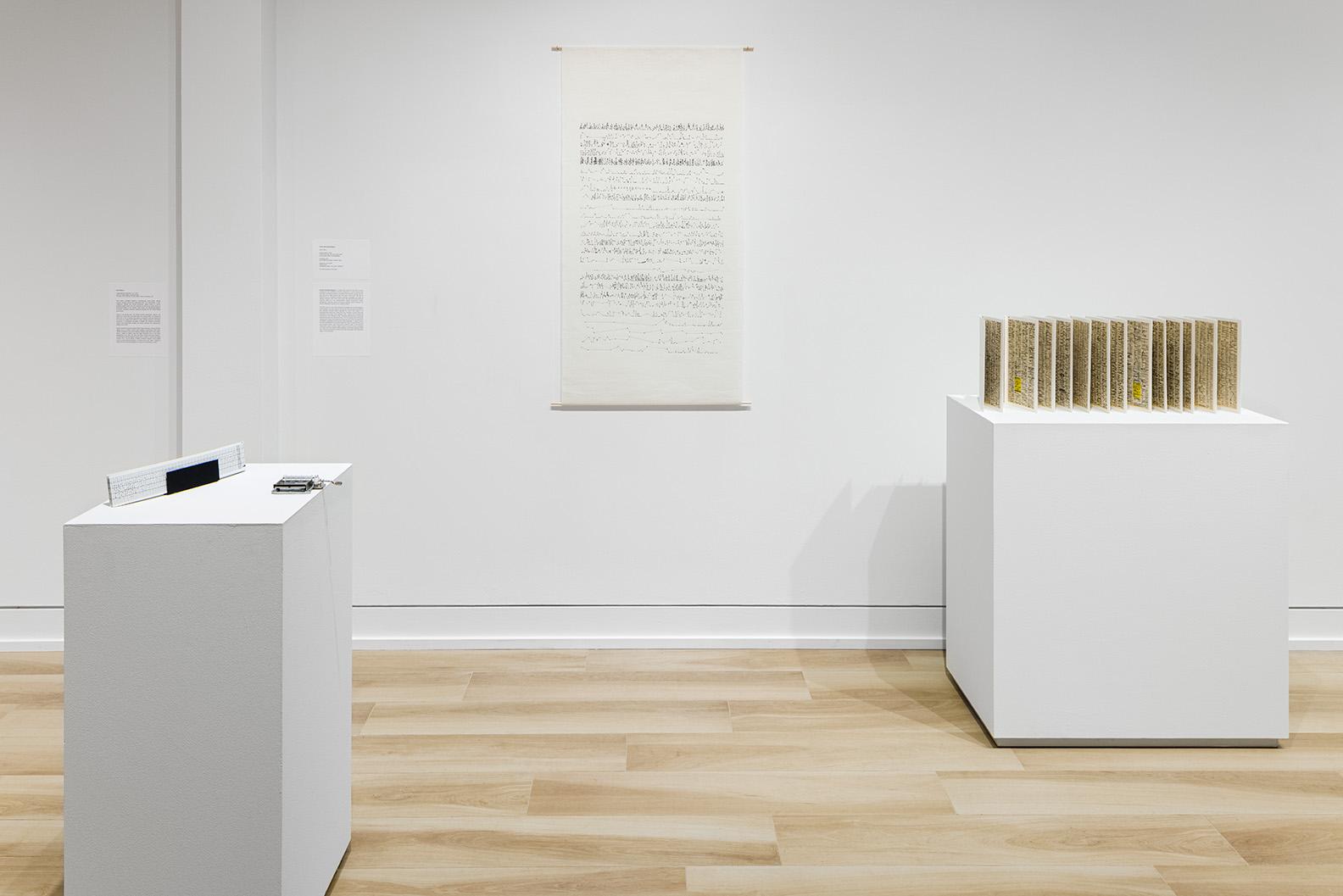 Viviane Rombaldi Seppey installation