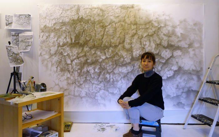 Katrina Bello in her studio.