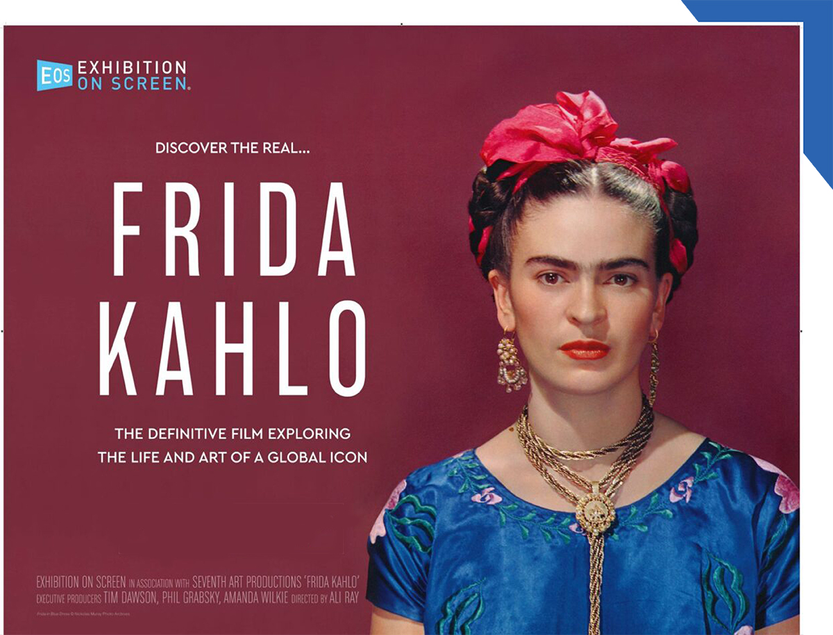 Frida Kahlo Movie Event Slide